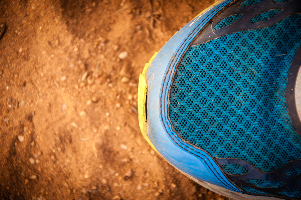 Although the overall quality of the Vibram® outsole is excellent I noticed that the outsole started to pull from the shoe on the toe.