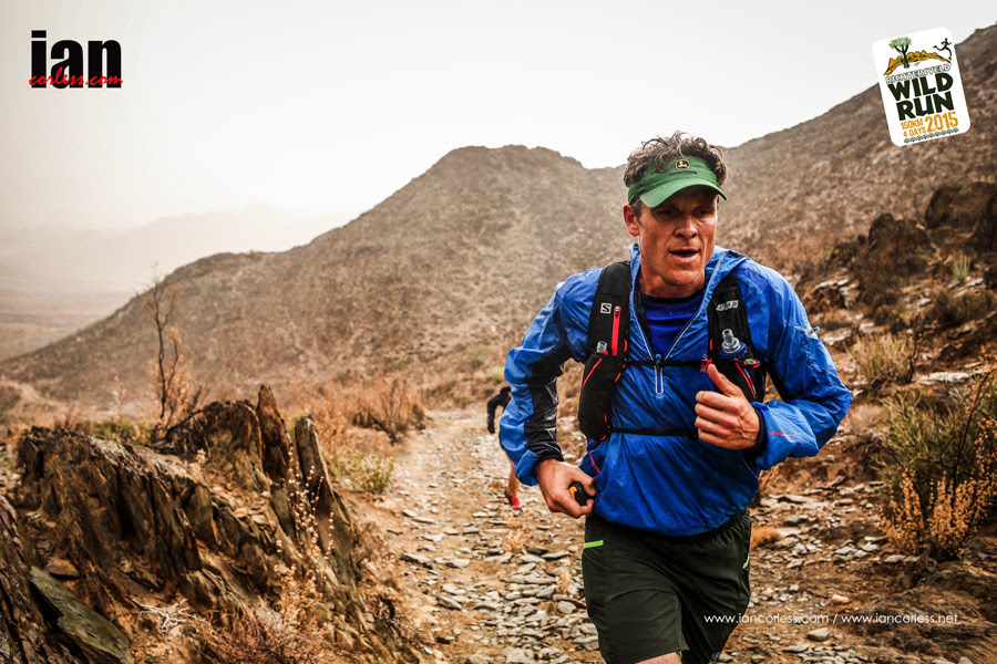James Cracknell at day 2 of the Richtersveld Wildrun™. Copyright Ian Cracknell